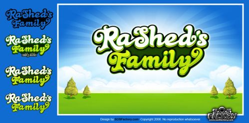 Logo design: Rashed Family by SOSFactory