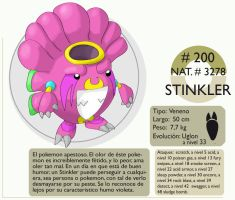 Pokemon Oryu 200 Stinkler by shinyscyther