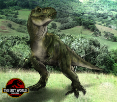 Lost World T-Rex by Tai91