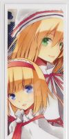 TouHou BookMark - Alice + Lily by SheepNeutral