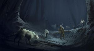 Night wolves by QuintusCassius