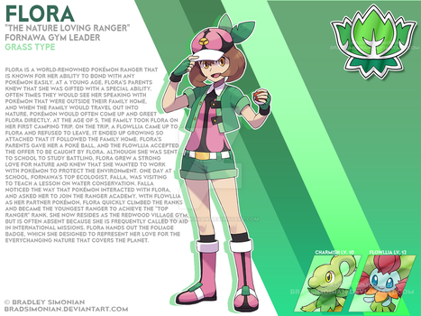 Flora - The Nature Loving Ranger by BradSimonian