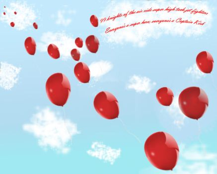 99 Red Balloons Wallpaper 2 by cllo-chan