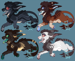 Vernid Adoptables by LiLaiRa