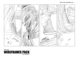 Wireframes pack by Cmilo