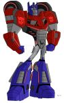 Animated Optimus Prime-War for Cybertron