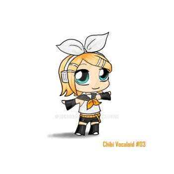 Chibi Vocaloid 3 by Berende
