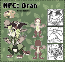 [CE: NPC Contest] - Oran by Frozen--Star