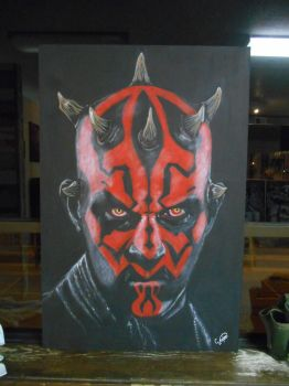 Darth Maul by calebvoorhees