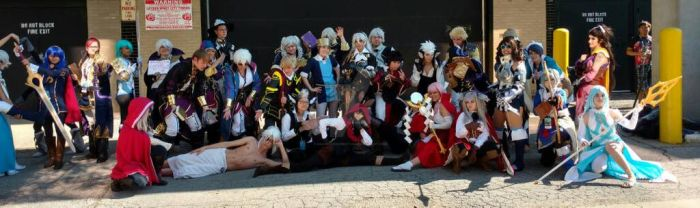 Fire emblem meet up Anime Midwest by sailordangerstar