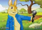 Peter Rabbit (I didn't know he could sing) by JonWKhoo