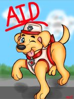 ART TRADE: Aid to the Rescue by KwaziiCat
