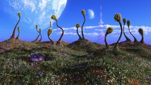 The Living Hills of the Second Moon by ArthurBlue