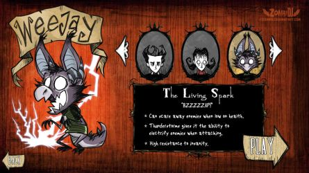 [Don't Starve] The Living Spark by ZombiDJ