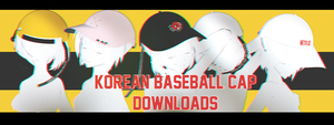 PARTDL:KOREAN BASEBALL CAP by ThisisKENZ