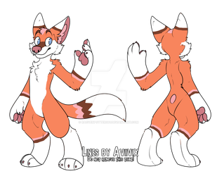 Furry Fox Adopt (closed) by racvenpotter333
