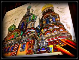 Church of the Savior on Blood by MarchCoven