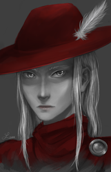 Red Mage - FFI by luciferousLimner