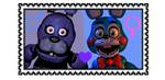 REQUEST: Bonnie x Toy Bonnie (Male X Female) stamp by TinkerBellTheChihua