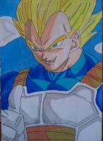 Vegeta Super Saiyan by Demy by Demy111