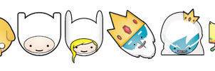 Adventure Time - Icon Pack by Nawledge