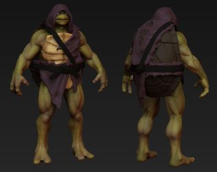 TMNT:Donatello by CronoZer0
