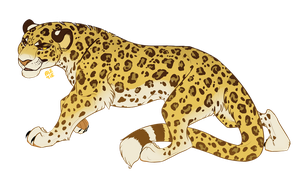 Keith the Leopardess [Commission] by Ale-Tie