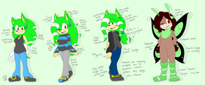 Evolution of Sammi by Sammi-Arts