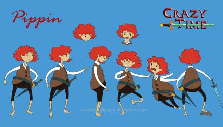 Pippin the Hobbit by Belegilgalad