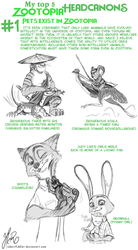 My Zootopia Headcanons - Number #1 by RobertFiddler