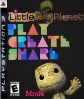 LittleBigPlanet Cover--black by dtran09