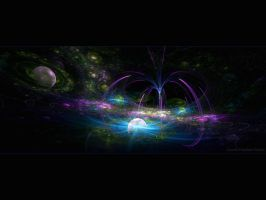 Cosmic Fountain by love1008