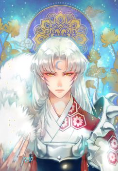 sesshomaru2018JAN-11 by RYOxKJ