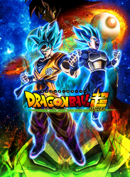 Dragon Ball Super Movie 2018 Poster Ramake by lucario-strike