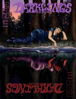 Darklings - Issue 2 cover by RavynSoul