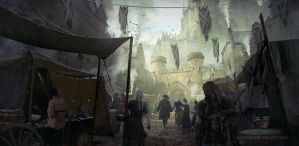 Medieval Market by AnthonyDevine