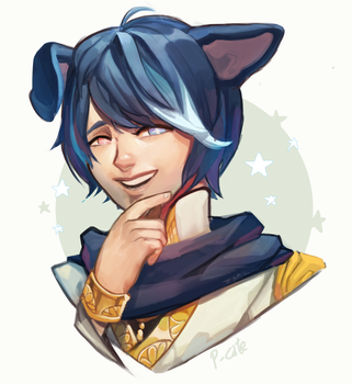 Shu - Commission by P-cate