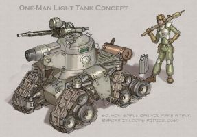 Microtank Concept by MikeDoscher
