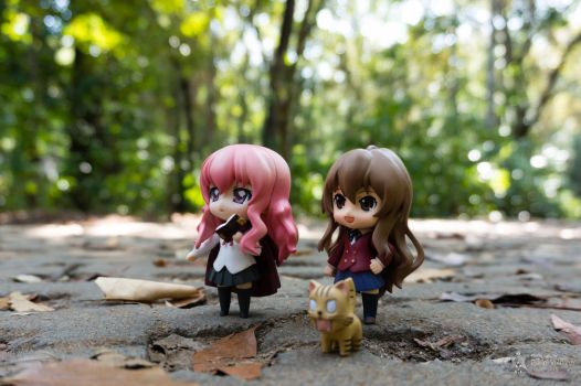 Louise and Taiga in Pangandaran - 1 by Dalva24