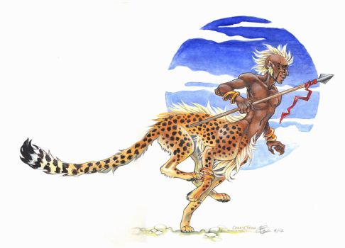 Cheetaur by ConnyChiwa