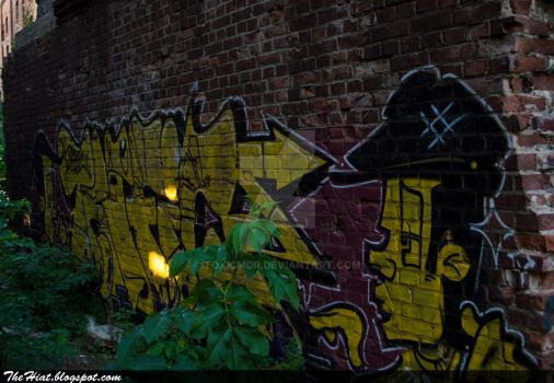 Yellow brick wall by toxicMDR