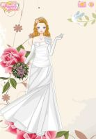 :Art Trade: Belinda Wedding Dress by suburbantimewaster