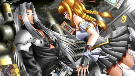 Commission:Arc and Sephiroth by ilolamai
