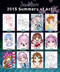 2015 Summary of Art by jamuko