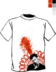 Blow Tee by graphicoverdrive