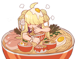 Ramen Girl by Mafer