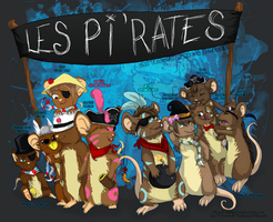 .: Les Pi'Rates -return-. by Meoxie