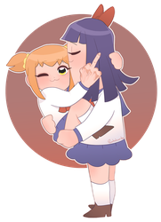 Pop Team Epic by GoingMadHatter
