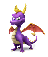 Spyro Smashified by hairydarlington