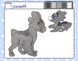 Silverwind by RainbowGuppy1